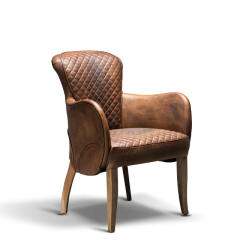 Side Saddle Dining Chair