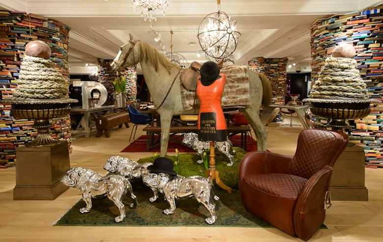 Timothy Oulton now open at Harrods!