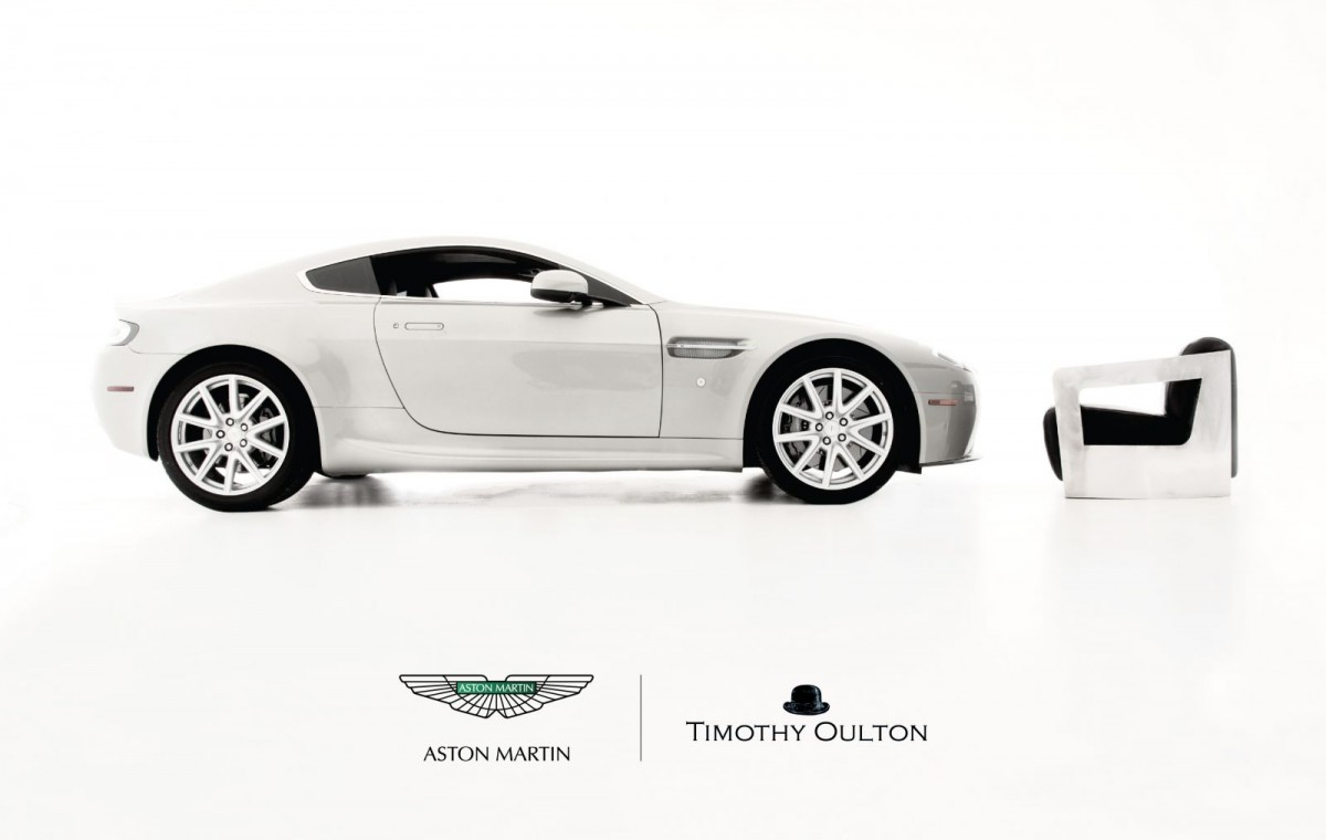 Timothy Oulton partners with Aston Martin