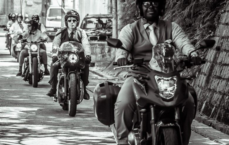Bikers and Bowler Hats