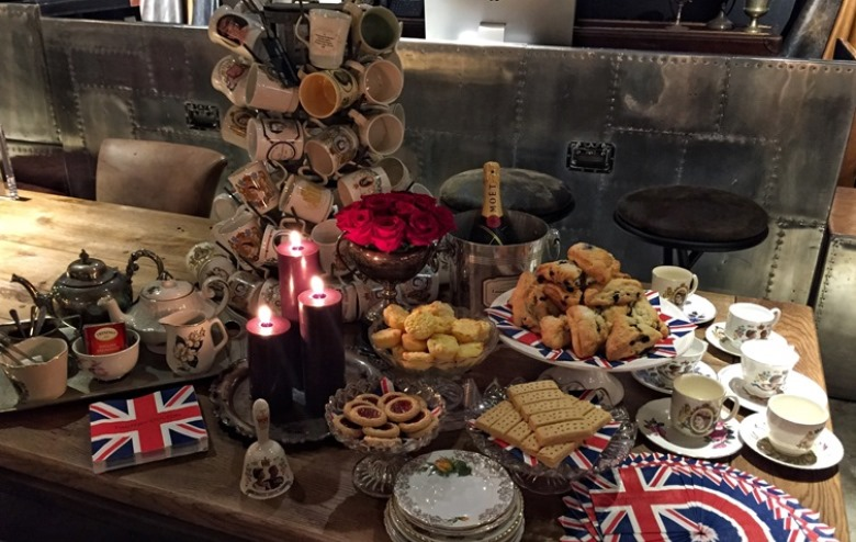A Royal Spread