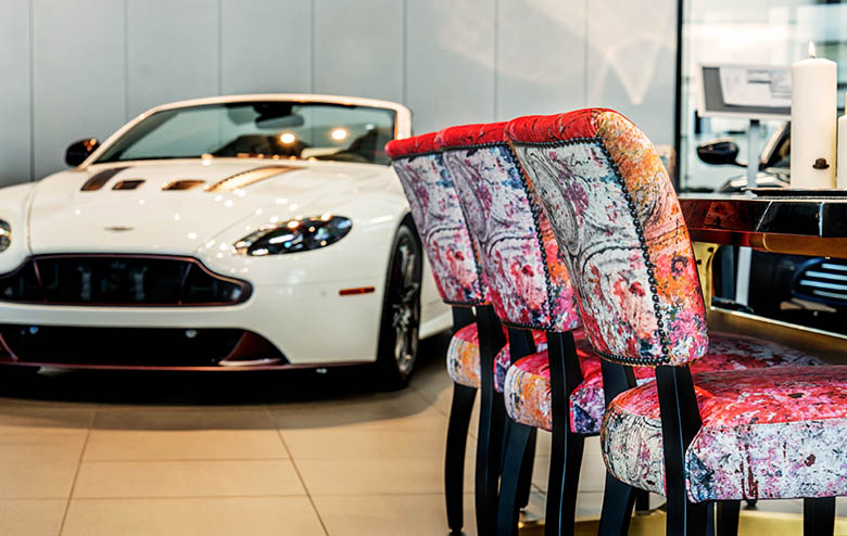 Driven by Beauty  Aston Martin and Timothy Oulton Collaborate in L.A.