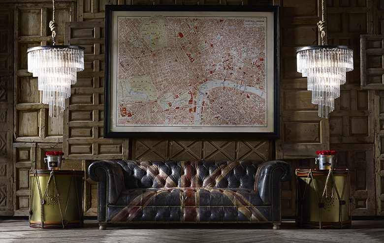 Go Big or Go Home: Crystal Chandeliers, Handcrafted Sofas and Everything You Need To Live It Large