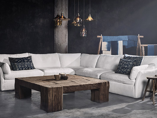 Noble Souls: The Oasis Sofa