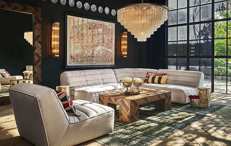 Shabby: Our Ridiculously Comfortable Sectional
